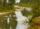 A Day on the Elk River 12x16in (sold)