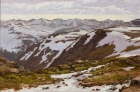 Late Spring on Trail Ridge Road 24x36in (sold)