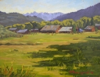 North Routt Ranch 11x14in (sold)