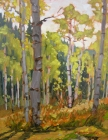 Spring Creek Aspen 11x14in (sold)