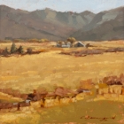 View from Vernon Summers 8x8in