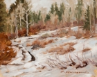 Early Winter on Buffalo Pass 8x10in (sold)