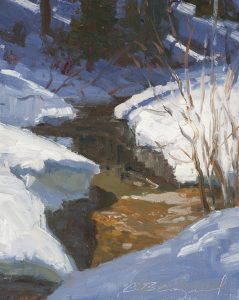Late Winter Solace Study