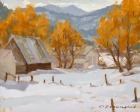 Winter on the Ranch 9x12in
