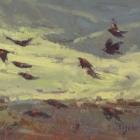 """Blackbird Fly 8""""x16"""""""