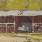 """Out to Pasture 8""""x10"""""""
