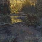 """Sunrise on Slate Creek 20""""x24"""""""