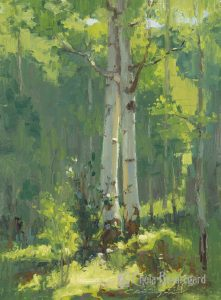 1st Place winning painting for the Steamboat Art Museum Plein Air Event 2016